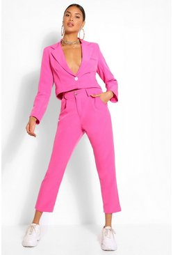 Hot pink Woven Tailored Trouser
