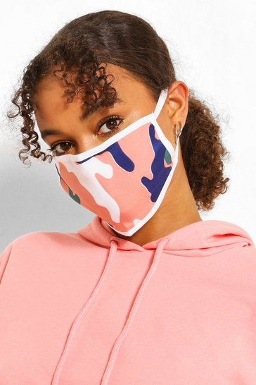 Multi Camo Fashion Face Mask