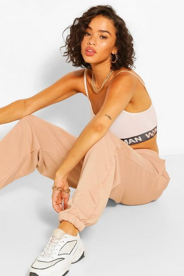 Peach CASUAL OVERSIZED POCKET DETAIL JOGGER