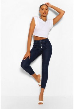 Indigo blue High Waisted Skinny Jean