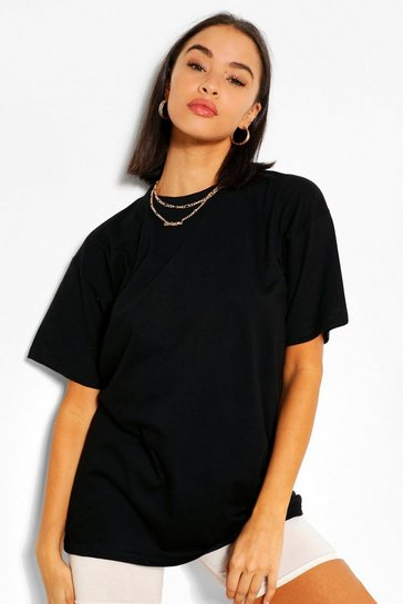 Black Basic Short Sleeve T-Shirt