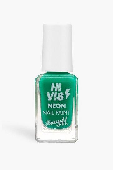 Barry M Hi Vis Neon Nail Paint Green Light