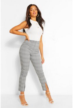 Black Check Trouser