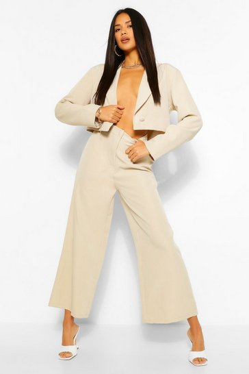 Stone The Woven Wide Leg Trouser