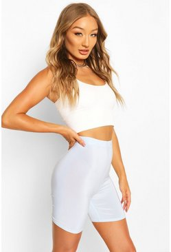 Blue HIGH WAIST SLINKY CYCLING SHORT