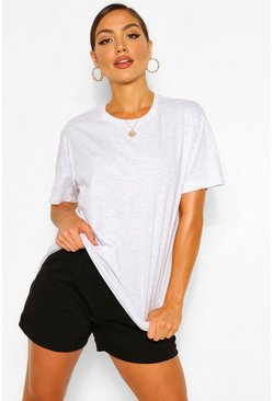 Ash BASIC OVERSIZED T-SHIRT