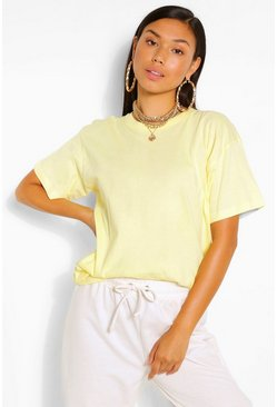 Yellow BASIC OVERSIZED T-SHIRT