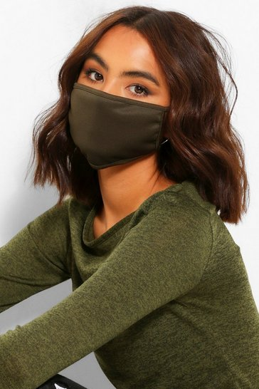 Khaki Fashion Face Mask