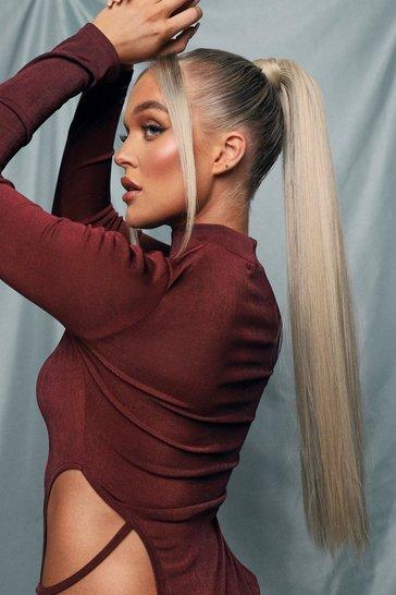 LullaBellz Straight Pony Golden Blonde