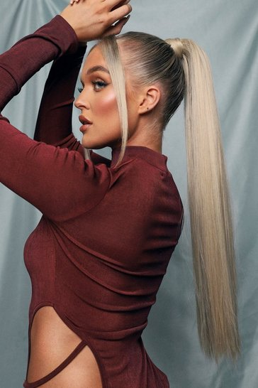 LullaBellz Straight Pony Light Blonde