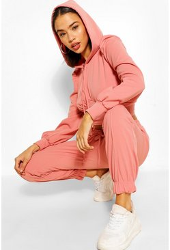 Rose PUFF SLEEVE HOODY AND JOGGER SET