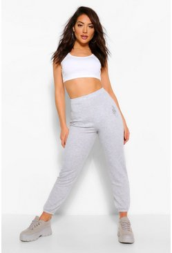 Grey Celestial Print Sweat Jogger