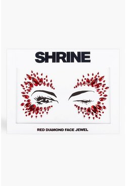 Shrine Red Diamond Face Jewel