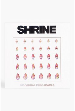 Shrine Pink Individual Face Jewels