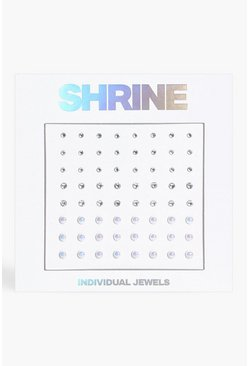 Silver Shrine Individual Face Jewels