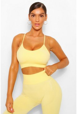 Lemon yellow Fit Seamfree Bra
