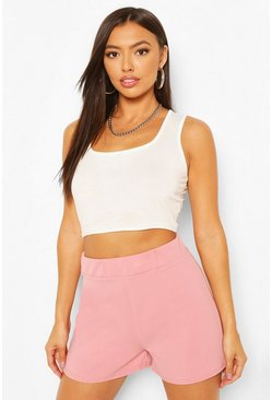 Rose Tailored Elasticated Waist Shorts