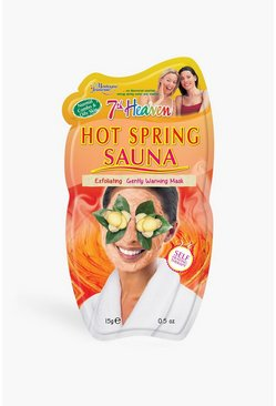 Hot Spring Sauna Face Mask, Multi