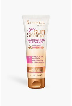 Rimmel Gradual Tan & Toning Lotion - Argan Oil