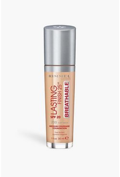 Medium Rimmel Breathable Foundation Soft Beige 200