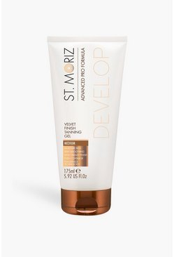 Geelbruin brown St Moriz Ad Pro Velvet Finish Tan Gel Medium
