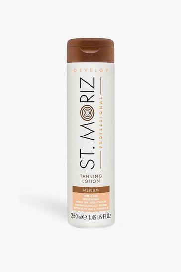 Tan brown St Moriz Professional Lotion Medium