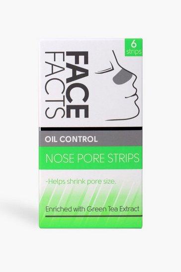 White Face Facts Nose Pore Strips - Oil Control