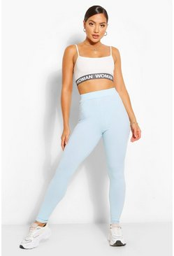 Baby blue blue 2 Pack Jumbo Rib High Waist Leggings