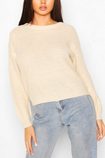 Stone Loose RIb Knit Jumper