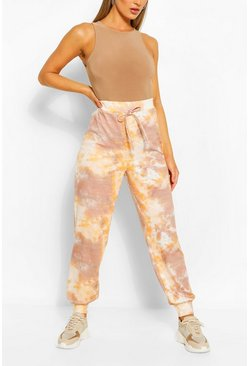 Nude Tonal Tie Dye Relaxed Joggers