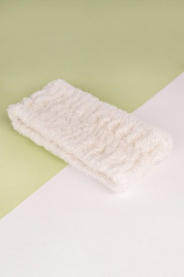 White So Eco Spa Headband