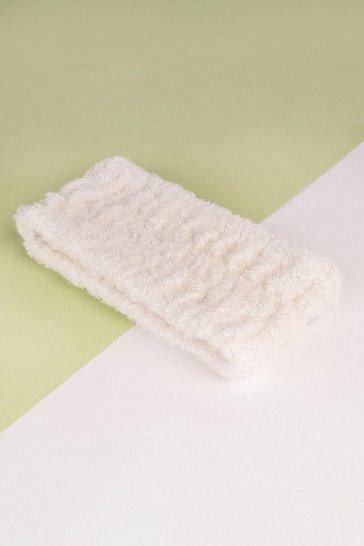 White So Eco Spa Headband