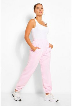 Pale pink pink CASUAL HIGH WAIST  JOGGER