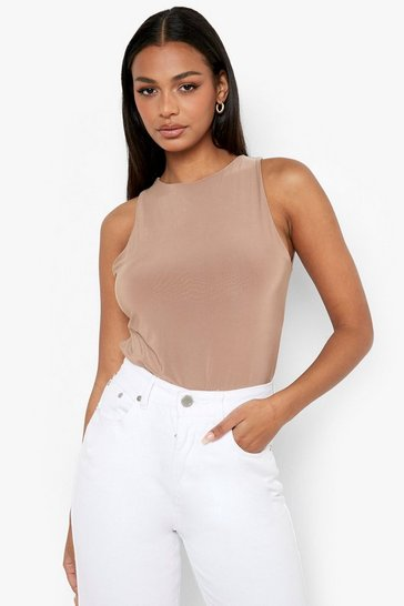 Camel Double Layer Bodysuit
