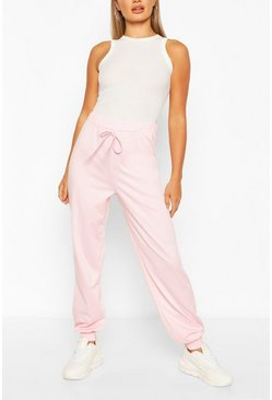 Baby pink pink Lightweight Relaxed Casual Joggers