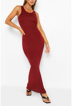 Berry red Maxi Dress