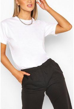 White Basic Oversized t-shirt