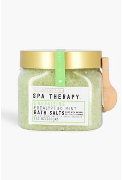 Mint green WLLT Spa Therapy Bath Salt