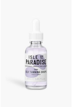 Clear Isle Of Paradise Self Tanning Drops Dark