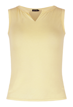 Lemon Basic Notch Vest