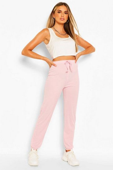 Pink Easy Ribbed Jogger