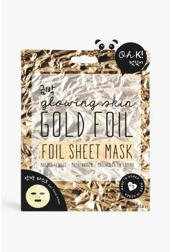 Multi Oh K! Gold Foil Sheet Mask
