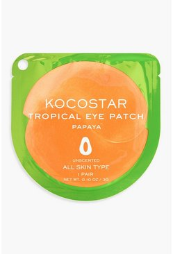 Kocostar Tropical Eye Patch - Papaya, Multi