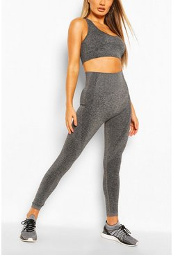 Charcoal grey Fit Seamfree Leggings