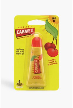 Yellow Carmex Lip Balm Cherry Tube