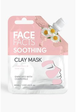 Face Facts Clay Mud Mask - Soothing, Pink