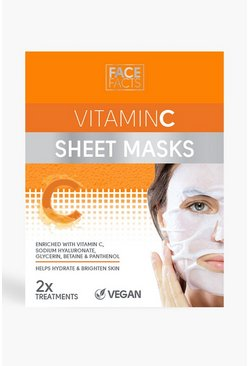 Orange Face Facts Vitamin C Sheet Mask