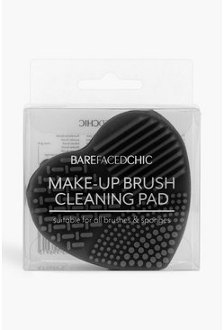 Black Makeup Brush Cleansing Pad