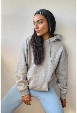 Grey Recycled Oversized Hoodie