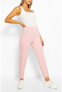 Pale pink pink Basic Regular Fit Joggers